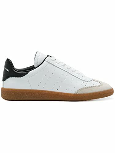 Isabel Marant Luxury Fashion Damen BK002900M007S20WH Weiss Leder Sneakers   Fw21