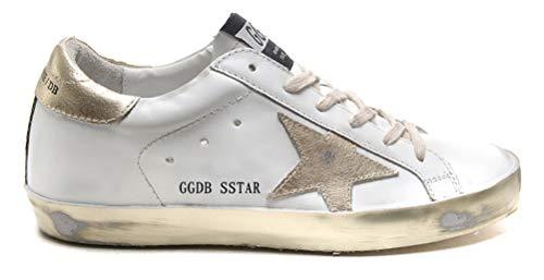 Golden Goose Damen Casual Sneakers Super Star Francy Sportschuhe Goldene Schuhe, Letter - Größe: 37 EU