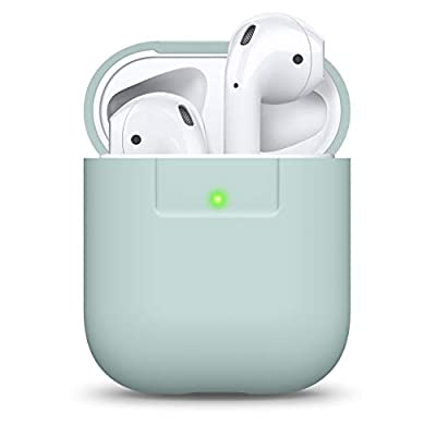 elago AirPods Silicone Case Designed for Apple Airpods Case 2 & 1 - Baby Mint from Elago