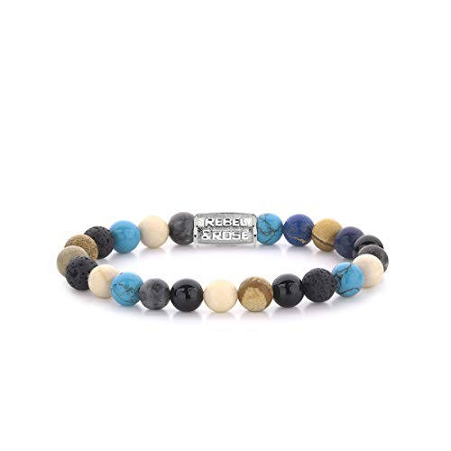 Rebel and Rose Stones Only Summer Breeze 8mm Armband RR-80064-S-M (Lengte: 17.50-18.00 cm)