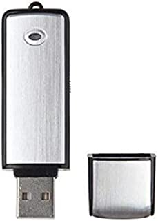 DZSF U-disk digital mini ljudinspelare 8 GB professionell röstaktiverad inspelning diktafon USB-inspelningspenna