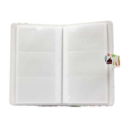 Estuche de cocina multifuncional Patrón de postre Mini inserto de creatividad de bricolaje PU de 3 pulgadas Tipo 32 páginas Exquisito álbum de fotos for Polaroid, Lugar: escritorios de invitados, dorm: Amazon.es: