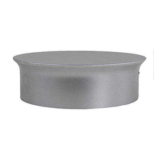 Kamino Flam Rohrkapsel aus verzinktem Stahl, feueraluminiert (FAL), Kaminverschluss mit Isolierung, Verschluss für alle gängigen Ofenrohre, Ofenlochdeckel für Rohre Ø 150 mm, Tiefe: 48 mm