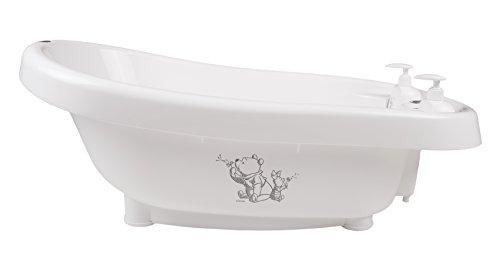 bébé-jou Bain Thermo avec Thermomètre Intégré Thème Whishing Pooh Blanc