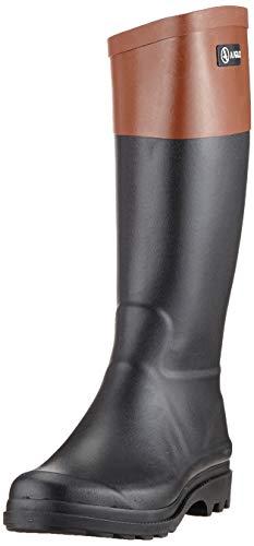 Aigle Damen AIGLENTINE COL Gummistiefel, Schwarz (Noir/Ambre 001), 41 EU