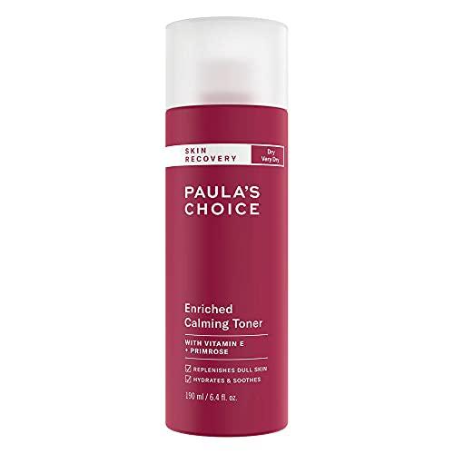 Paula\'s Choice Skin Recovery Gesichtswasser - Milchiger Toner vermindert Hautrötungen & Pflegt die Haut - mit Nachtkerzenöl & Vitamin E - für Rosazea Empfindliche Haut & Trockene Haut - 190 ml
