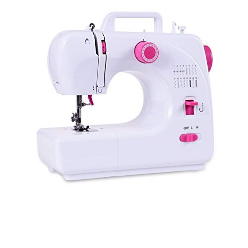 Best Prices! CGOLDENWALL Mini Sewing Machine + 12 Stitches+Portable Handle Automatic Needle Threader...