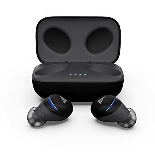 Boult audio AirBass Zigbuds True-Wireless Earbuds with Touch Control, IPX5 Water Resistant & Playtime Upto 18 Hours with Case.(Grey)