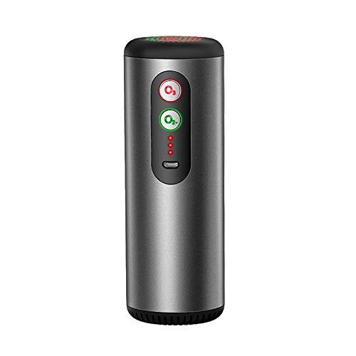 Purificatore d Aria per Auto, KKmoon Mini Depuratore d Aria Generatore di Ozono Due modalità Anione+Ozono Sterilizzatore per Deodorazione per Frigorifero Viaggio Ufficio Carica USB a Ultra Silenzioso