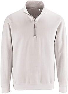 1be2e29c88 Sol'S Stan - Sweat Shirt Homme - Col Camionneur zippé