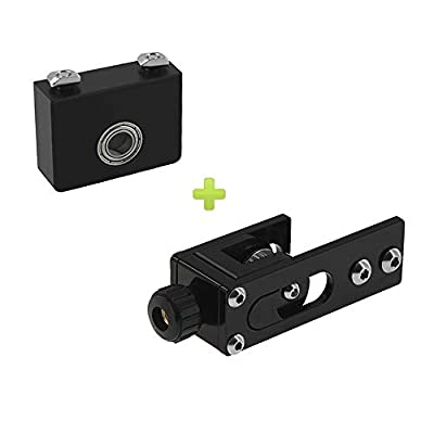 WINSINN Upgrade 2020 Profile X-axis Straighten Tensioner + Z-axis Leadscrew Top Mount, Works with Creality Ender 3 / Pro, CR10, CR10S etc.