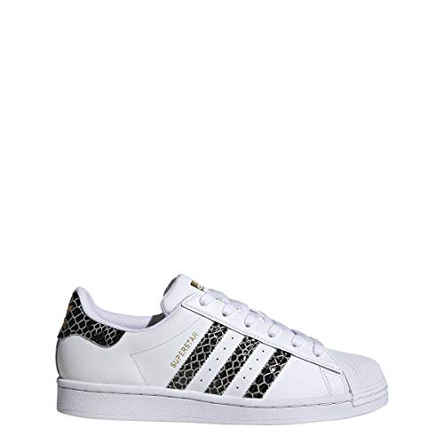 adidas Superstar W - Zapatillas deportivas para mujer, color blanco, blanco, 36 2/3 EU