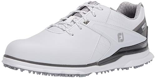 FootJoy Men's Pro/SL Carbon Golf Shoes, White, 12 M US