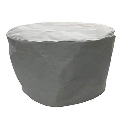 JIANFEI Housse Protection Salon De Jardin Grand Dispositif Table Chaise, 3 Couleurs 11 Taille Personnalisable (Couleur : Gray, taille : 360x250x90cm)