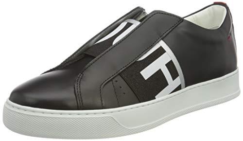 HUGO Damen Futurism EL.SneakerC Sneaker, Black1,38 EU