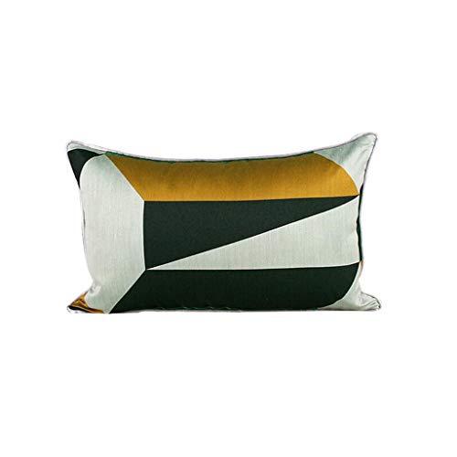 DUHUI Wohnzimmer-Sofa hochwertiges Kissen-einfaches abstraktes geometrisches Kissen-Mischfarben-Kissen (Farbe : B, größe : 30x50cm)
