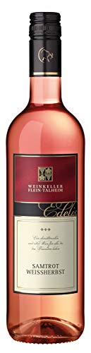 Württemberger Wein Fleiner Samtrot Weißherbst QW halbtrocken (1 x 0.75 l)