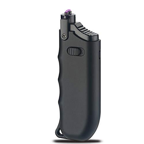 Larruping チャッカマン 伸び縮みライター USBライター 電気ライター 点火用ライター プラズマライター 充電式ライター 電子式ライター アークライター 防風 安全 良い触感 ミニサイズ