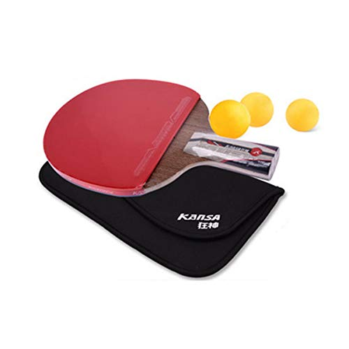 Learn More About Wuhuizhenjingxiaobu Table Tennis Racket, Suitable for Outdoor Sports and Fitness Ra...