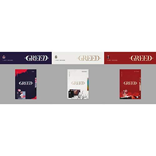 TOP Media Kim WOO Seok - Greed (Vol.1) Album+Folded Poster (K+S+W ver. Set)