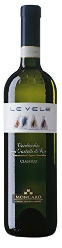 Moncaro Le Vele Verdicchio Dei Castelli Di Jesi Doc Classico Vino Bianco - 750 Ml