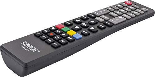 Schwaiger UFB100LG 533 Ersatzfernbedienung für LG TV Geräte schwarz