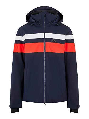 J.Lindeberg M Franklin Jacket Blau, Herren Primaloft Softshelljacke, Größe L - Farbe JL Navy