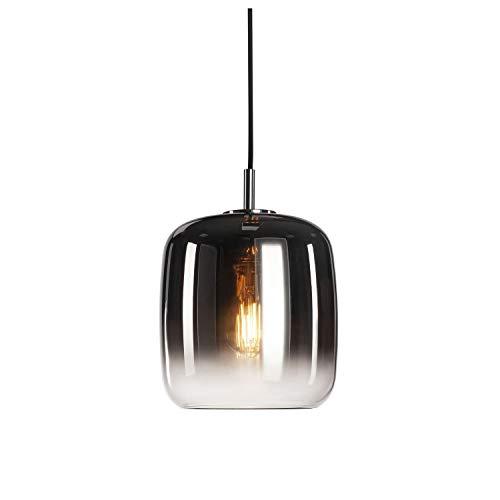 SLV Pendelleuchte PANTILO 20 / Wohnzimmer-Lampe, Innen-Beleuchtung, Hänge-Leuchte Esszimmer, LED, Decken-Leuchte / E27 15.0W chrom