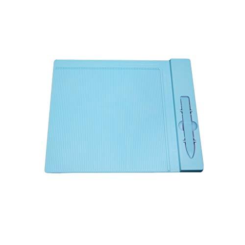 ZJL220 Profesional Mini Puntuación Tablero de Medición Herramienta Para Origami Sobre Tarjeta Carpeta Herramientas