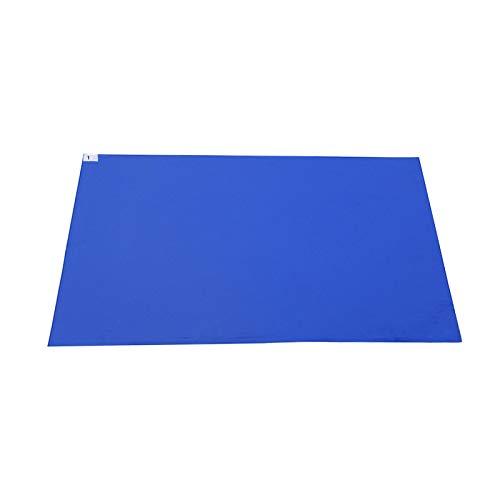 Alfombra de suelo para sala limpia, adhesiva, azul, control de contaminación, perfecto para salas limpias, obras de construcción, hospitales, clínicas, estudios de tatuaje