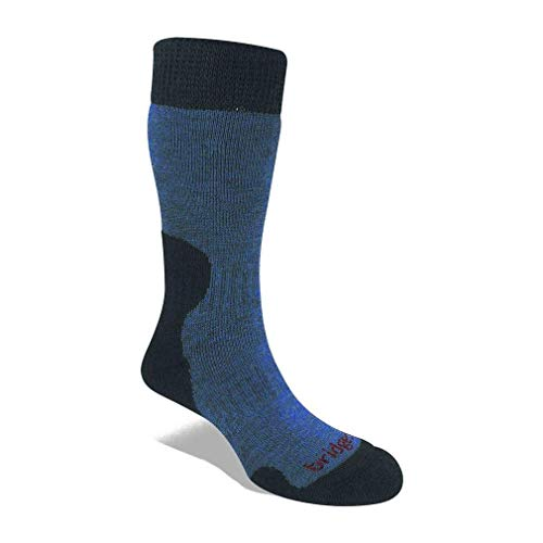 Bridgedale Hike Midweight Merino Endurance Original Socks Calzini, Blu Tempesta, S Donna