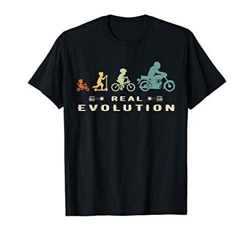 Motorrad Mopedfahrer Zubehör Evolution ddr S51 Simmi Moped T-Shirt