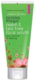 Aroma Magic Neem & Tea Tree Face Wash, Green, 200 ml