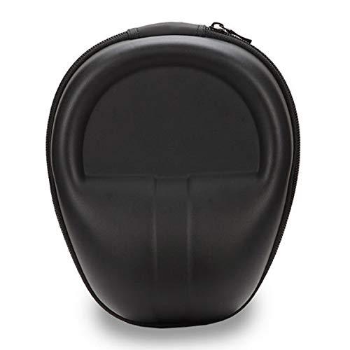 Tebery On-Ear/Over-Ear Kopfhörer Tasche (Hardcase zur Aufbewahrung, anpassbar an verschiedene Kopfbügel-Breiten, Travel Case mit Reißverschluss und Zubehör-Netzfach, Headphone Box) schwarz