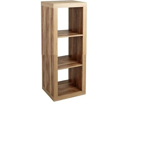 Better Homes and Gardens Furniture 3-Cube Room Organizer Storage Bookcases Weathered (3 Cube, Weathered)