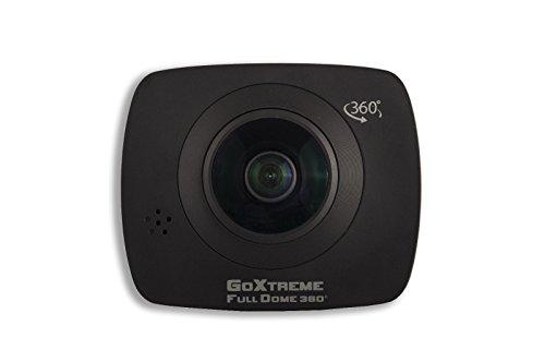 GoXtreme 20134Dome 360gradi VR/panorama pieno sfera nero della macchina fotografica, HQ definizione (1920 X 960) 30 FPS