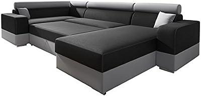 tiauant Mobiliario Sofás Conjunto de Sofa de Dos plazas 7 ...
