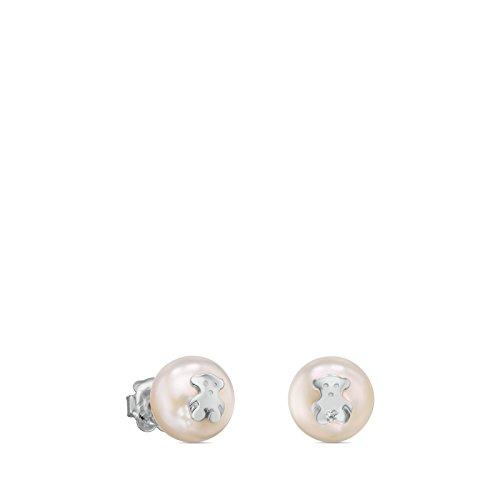 Pendientes TOUS Bear plata primera ley perlas cultivadas