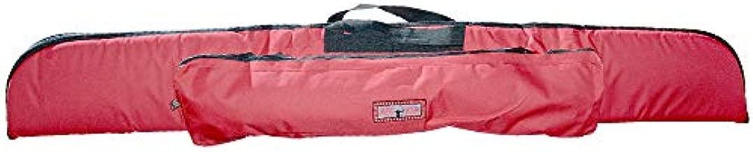 UNIVERSE ARCHERY Cordura Recurve Bow Bag | Heavy Duty Hunting Long Bow Case | Arrow & Bow Cordura Case | Archery Lightweight Recurve Bow Bag with Pocket (160 X 21 cm) (Red)