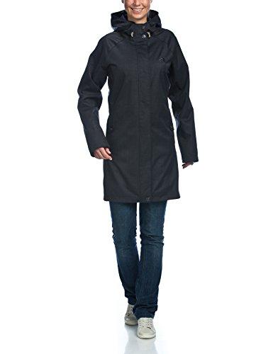 Tatonka Wallace - Abrigo Deportivo para Mujer Negro Azul Tal