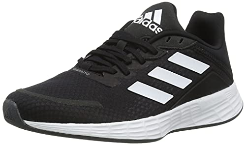adidas Duramo SL, Sneaker Mujer, Core Black/Footwear White/Grey, 38 2/3 EU