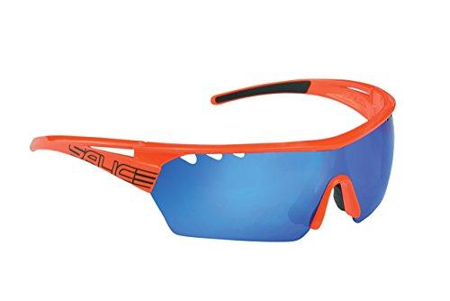 Salice 006RW - Gafas de Ciclismo, Color Naranja, Talla única