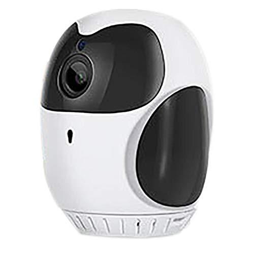Mogzank CáMara InaláMbrica, CáMara de Vigilancia para el Hogar de 355 Grados CáMara de VisióN Nocturna HD con Zoom 4X, para Exteriores en el Hogar - 1080P
