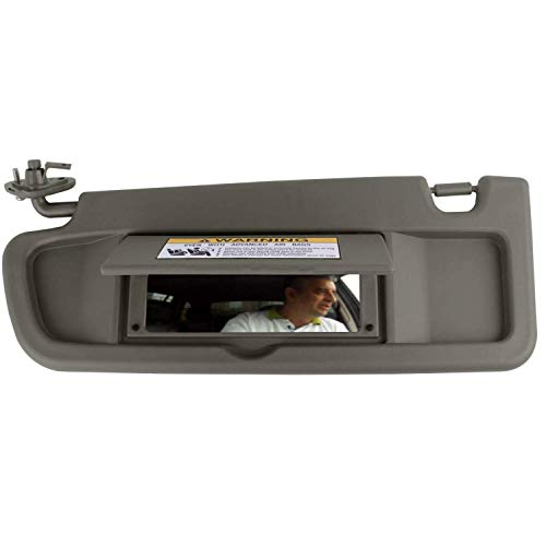 SAILEAD Left Driver Side Sun Visor for Honda Civic 83280-SNA-A01ZA 2006 2007 2008 Sun Visor Assembly (Atlas Gray)