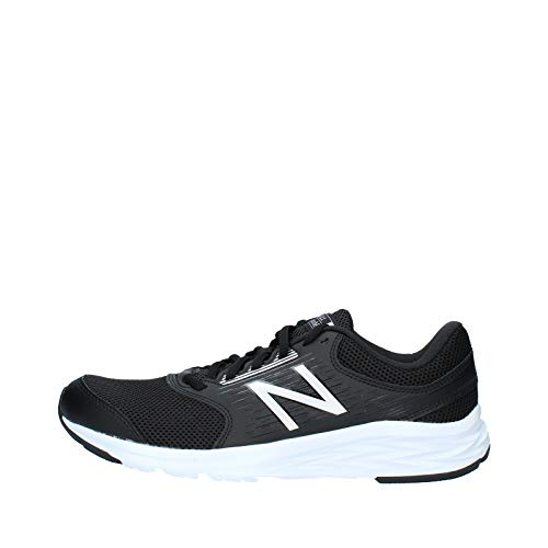 New Balance 411, Zapatillas de Running Hombre, Black (Black/White), 47.5 EU