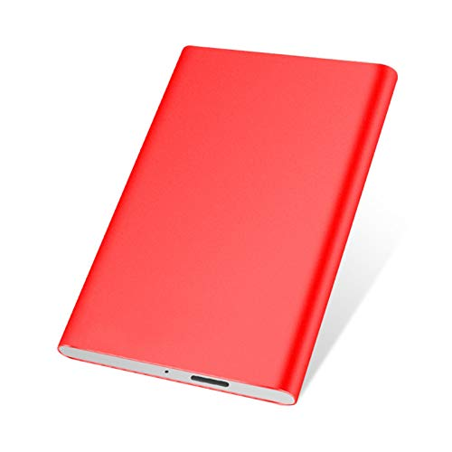 External Hard Drive Hdd 1tb/500gb/320gb, 2.5-inch Metal Portable Usb 3.0 Backup Storage, Suitable for Pc, Desktop, Laptop, Macbook, Ps4, Xbox One, Smart Tv (Capacity : 1TB, Color : Red)