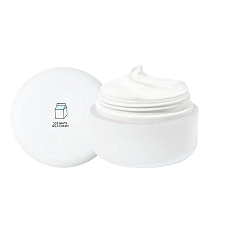 ブランド名いたずら非武装化[3CE] ホワイトミルククリーム(White Milk Cream) 50g