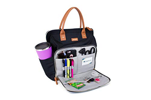 ReadyGO by Maevn Water-Resistant Clinical Tote Backpack in Black (Black)