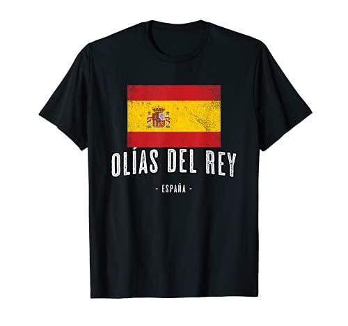 Olías del Rey España | Souvenir - Ciudad - Bandera - Camiseta