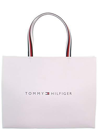 Tommy Hilfiger 49110 - Bolso bandolera (38 x 31 x 14 cm), color blanco